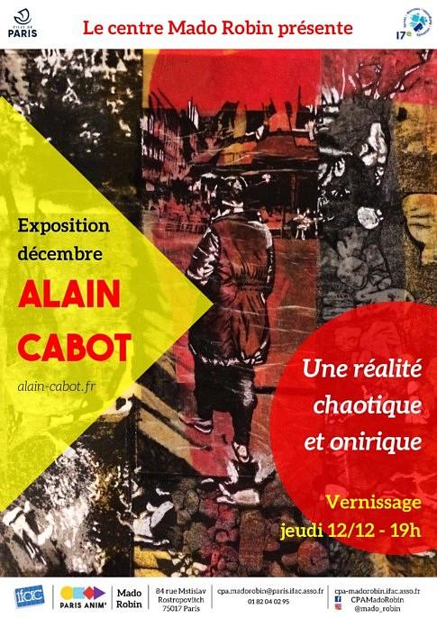 Exposition personnelle Alain Cabot