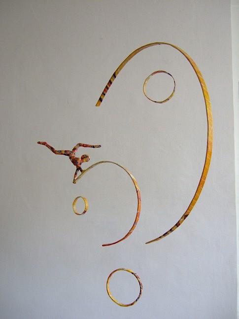 L'acrobate, ht : 55 cm