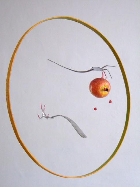Destin de pomme, diamètre : 70 cm