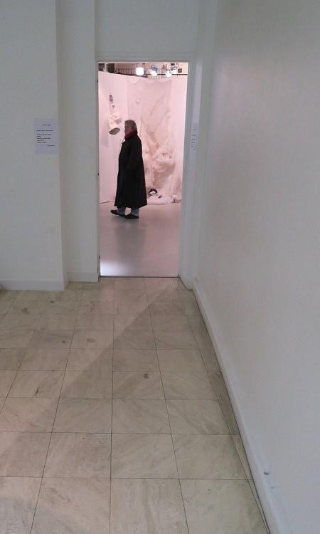 une visiteuse