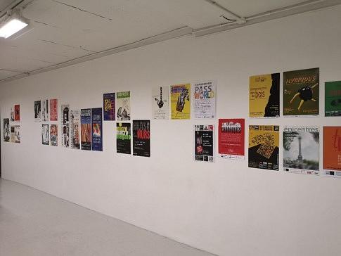 les affiches de 30 ans d'Artistes à la Bastille