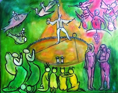 Recordare-Requiem de Mozart   2012 100x80