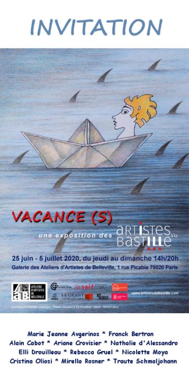 Invitation exposition Vacance(s)