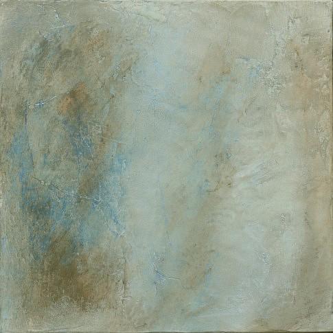 Petits paysages d'hiver (III). Techniques mixtes sur toile 30 x 30 cm.